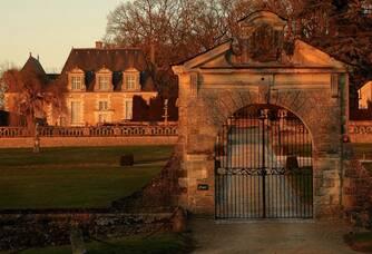 L'entrée au Château de Valmer
