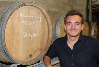 Adrien Rousseaux du Domaine Rousseaux-Batteux
