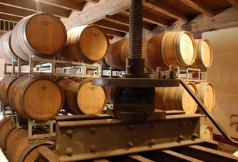 Le chai du Domaine de Fontenelles