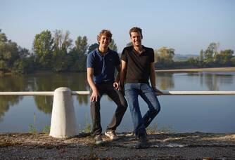 Paul-Arhtur et Thibault Bardet